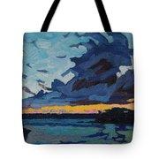 Singleton Sunset Stratocumulus Tote Bag