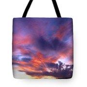 Singular Sunset Tote Bag