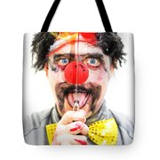 Sinister Clown Tote Bag