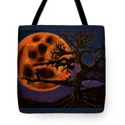 Sinister Moon Tote Bag