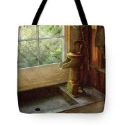 Sink - Water Pump Tote Bag