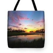 Sink Creek Sunset Tote Bag