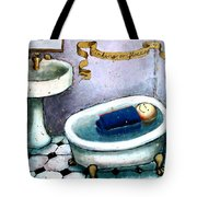 Sinking Or Floating Tote Bag