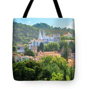 Sintra National Palace Aerial Tote Bag