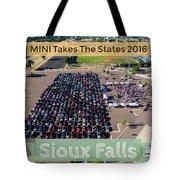 Sioux Falls Rise/shine 2 W/text Tote Bag
