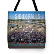 Sioux Falls Rise/shine 3 W/text Tote Bag