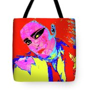 Siouxsie With Dragon Tattoo Tote Bag