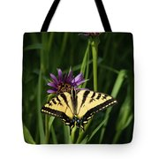 Sipping Flowers Tote Bag