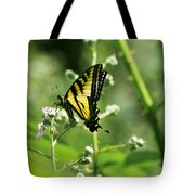 Sipping On Blackberry Blossoms Tote Bag