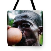 Sipping Palm Wine Tote Bag