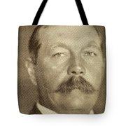 Sir Arthur Conan Doyle, 1859 -1930 Tote Bag
