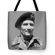 Sir Bernard Law Montgomery  Tote Bag