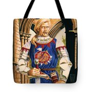 Sir Dinadan Tote Bag by Melissa A Benson