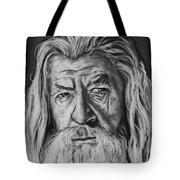 Sir Ian Mckellen As Gandalf The Grey Tote Bag