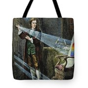 Sir Isaac Newton Tote Bag