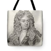 Sir John Vanbrugh, 1664 To 1726 Tote Bag