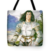 Sir Lancelot Tote Bag