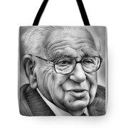 Sir Nicholas Winton Tote Bag