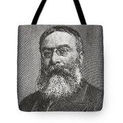 Sir Walter Besant, 1836 -1901. English Tote Bag
