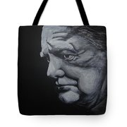 Sir Winstone Churchill Tote Bag