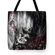 Siren Of The Crimson Forest  Tote Bag