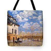 Sisley: Flood, 1876 Tote Bag