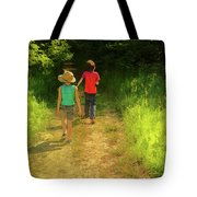 Sister And Brother Tote Bag
