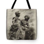 Sisters Tote Bag by Bill Cannon