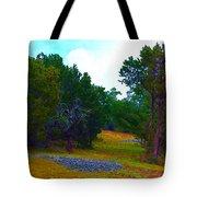 Sister's Hill Country Backyard Tote Bag