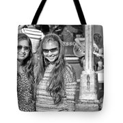 Sisters Out And About Tote Bag