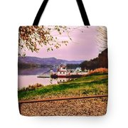 Sisters Ville Ferry Tote Bag