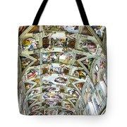Sistine Chapel Tote Bag
