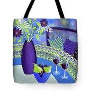 Sit A While Tote Bag