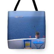 Sit And Enjoy Tote Bag