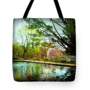 Sit And Ponder - Deep Cut Gardens Tote Bag