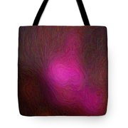 Siting In Darkness Tote Bag