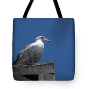 Sitting By The Dock Of The Bay Tote Bag