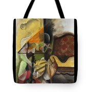 Sitting Figure II Tote Bag