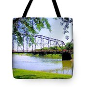 Sitting In Fort Benton Tote Bag