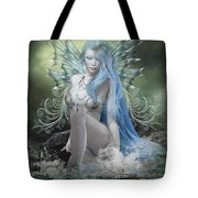 Sitting In Silence Tote Bag