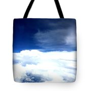 Sitting In The Clouds Tote Bag