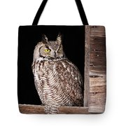Sitting In The Window Tote Bag