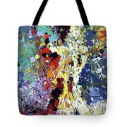 Sitting Nu Abstract Tote Bag