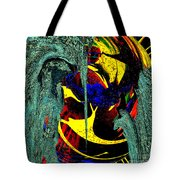 Sitting On The Edge Tote Bag