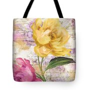 Sitting Pretty Peonies Tote Bag