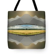 Sitting Silently Tote Bag