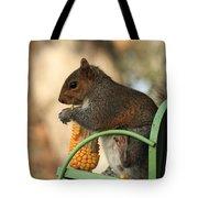 Sitting Squirrel Tote Bag
