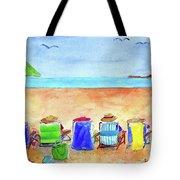 Six Beach Amigos Tote Bag