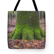 Six Green Fingers Tote Bag