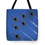 Six In Flight Tote Bag